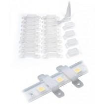 200pcs Waterproof LED Strip Lights Mounting Brackets