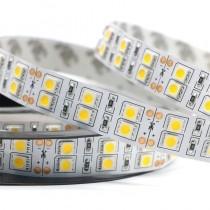120 LEDs/M Double Row SMD5050 Flexible LED Strip Light DC 12V