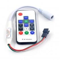 RF Remote LED Controller 300 Effects 2048 Pixels 5v 12v for WS2811 WS2812B SK6812 Strip
