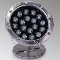 18W Led Underwater Pond Light Swimming Pool Fountain Submersible Spotlight Lamp
