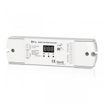 1CH 12A Constant Voltage DMX512 RDM Decoder D1-L For Single Color LED Strip Lights