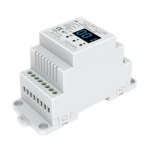 1CH 12A Constant Voltage DMX512 RDM Decoder D1 For Single Color LED Strip Light