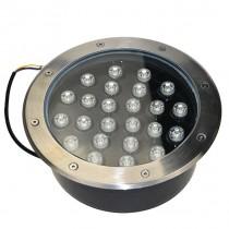 Waterproof 24W LED Underground Light Ground Path Floor Landscape Lamp