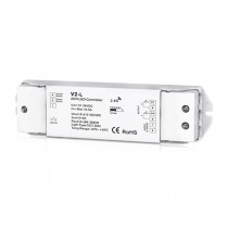 2CH 8A Constant Voltage RF 2.4G Receiver V2-L For CCT DIM LED Strip Light