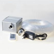 300 Strand 10m fiber optic cable 5W LED optical light illuminator for 10 * 2m ceiling