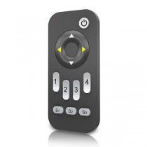4 Zones RF 2.4G LED Dimming Remote RA1 For Single Color LED Lamp