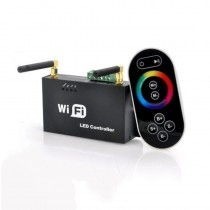 4A 3CH 2.4G WIFI RF Slave Controller Control Via IOS or Android Phone Tablet PC