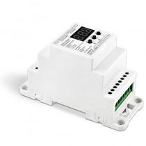 Bincolor LED Controller BC-835-010V-DIN/BC-835-PWM-DIN Din Rail DMX512/1990 Converter
