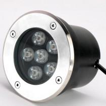 Waterproof 6W LED Underground Light Ground Floor Outdoor Buried Lamp