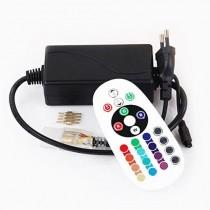 AC 110/220V 750W LED RGB Wireless RF Remote Control Controller