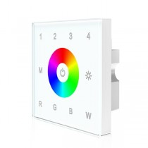 AC85-265V Touch Panel (2 in 1 ) DMX512 Master T13 For RGB/RGBW LED Lamp
