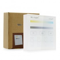 Milight B2 Panel LED Controller CCT Wall Mounted Remote 30M Wireless Dimmer
