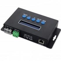 Bincolor BC-204 5V-24V Artnet to SPI DMX Pixel Light LED Controller Eternet Protocol