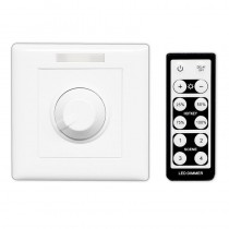 BC-320-010V/PWM Bincolor Led Dimmer AC 85-265V Wall Knob Controller with IR Remote