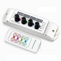 Bincolor BC-354RF Led Rotary CV Multi Function Light Display RGBW Remote Controller