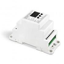 Bincolor Led Controller BC-834-DIN-RJ45 4CH DIN Rail 4CH DMX512/1990 Decoder