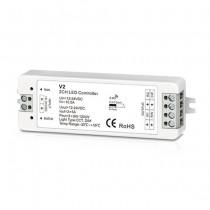 DC12-24V 2CH 5A Constant Voltage RF 2.4G Receiver V2 For LED Strip Light