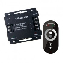DC 12V 24V 6A 3CH Control Touch Panel LED Wireless RF Remote Controller