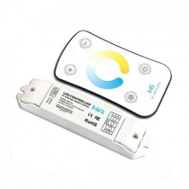 DC 12V 24V 3A 3CH Touch Panel 2.4G wireless RF Double White Touch Controller