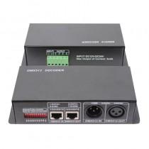 DC 12V 24V 4A 3CH 256 Gradations DMX512 Controller DMX Decoder