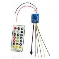 DC 5V 12V 24V 4A 4CH Waterproof Wireless RF Remote Controller For RGBW Light