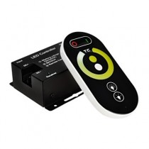 DC 12V 24V 6A 2CH 2.4G Touch Panel LED Wireless RF Remote Controller