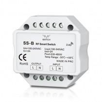 100-240VAC Triac RF Dimmer SS-B 2.4GHz Wireless WiFi-Relay Controller For Led Strip Light