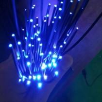 500M 2.2mm Black PMMA End Glow Plastic Opticas Fibre LED Cable