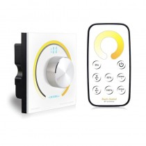 Bincolor BC-K2-T2 Led Controller Switch Knob Wall Single Color/CCT/RGB Rotary Dimmer