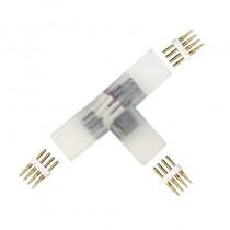 L shape Bends T Shape Branches 4-PIN High Voltage Led Lights Bifurcation Fast Connectors 10pcs