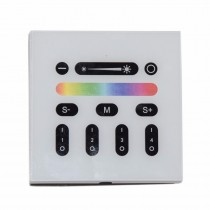Mi.Light 2.4G 4-Zone Touch Screen RGB RGBW Led Controller Wireless RF Remote
