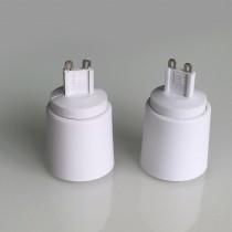 10 PCs Portable G9 Led Lamp Base Converter Light Bulb Adapter Holder Socket