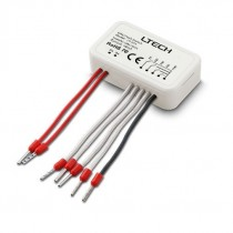 LTECH LT-424 6 in 1 Double Group Push Switch Work With DALI Master Controller