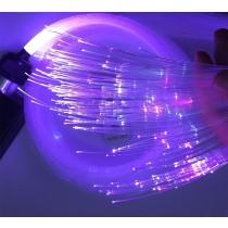 700M LENGTH  Diameter 1.5mm Transparent End Lit Fiber Optic Cable Travaling Light for Desk Bar Hotel Decoration