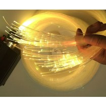 PMMA End Lit Fiber Optic Cable Plastic Material Rohs Certificate for Bathroom Bedroom Decor