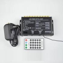 600pcs 0.75m Pmma Fiber Shooting Falling Star 5W White LED Fibre Optic Meteor Light Kit