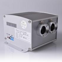 Three Mixed End Emitting Pmma Optical Fiber 10W Cree Led Twinkling Lamp Illuminator