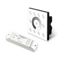 P5X+R4-2.4G Bincolor Led Controller Wireless Multi-Zone CV Dim Panel DMX512
