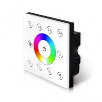 Bincolor Led Controller P7 RGB Dimmer 85V-265V Wall DMX512 Console Master Touch Panel