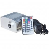 10 Watt RGBW LED Fiber Optic Illuminator with White Twinkle Color Optic Fibre Lighting