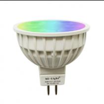 FUT104 Mi.light 4W MR16 RGB+CCT LED Spotlight Wifi Phone App RF Control Blub