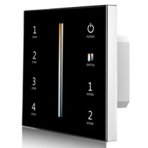 Skydance T12-1 AC 85-265V 4 Zones Color Temperature Touch Panel Remote LED Control 2.4G