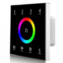 Skydance T13 AC 85-265V 4 Zones 2.4G RGB Touch Panel Remote LED Control
