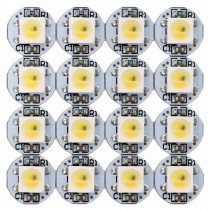 SK6812 RGBW LED Chips 100PCS WWA Addressable with PCB Heatsink 5V