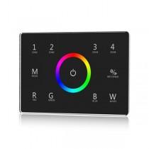 Skydance T14 IT Touch Panel 4 Zone RGBW DMX512 Master & RF Remote