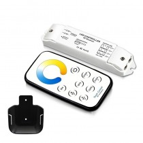 Bincolor T5-R3 Led Controller Mini Wireless Remote NW WW Dimmer Receiver Set