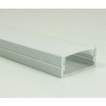 1M Led Deep Recessed Extruded Aluminum Channel Profile 20pcs