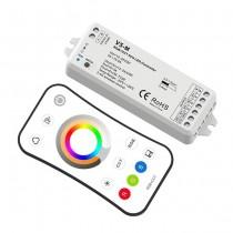 2.4G Wireless Remote Control RGB+CCT LED Controller Set V5-M + R8-2W