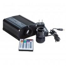12V 16W RGB/RGBW LED Fiber Optic Star Light Kits with 200pcs*0.75mm*2 meter