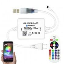 WiFi Buletooth Music RF Wireless AC110V 750W High-Voltage RGB Controller